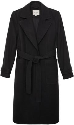 Matt & Nat Evie Vegan Wool Coat Black - Black / L