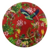 Maxwell & Williams Cashmere Birds of Paradise Plate 19cm Red