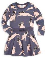 Mini Rodini Toddler's, Little Girl's & Girl's Rabbit-Print Dress