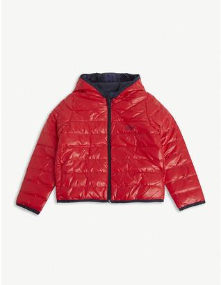 HUGO BOSS Reversible padded shell coat 4-16 years