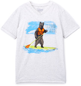 Lucky Brand White 'California Wildlife' Tee - Boys
