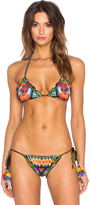 Agua Bendita Essentials Bendito Madeja Bikini Top