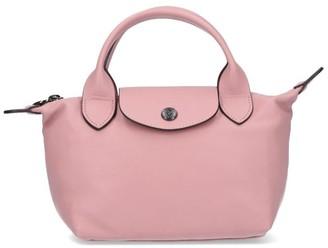 Longchamp Le Pliage Cuir XS Top Handle Bag