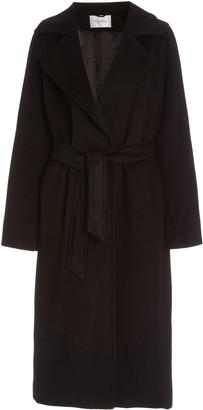 Max Mara Manuela Belted Camel Wool Trench Coat