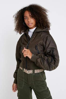 Iets Frans... iets frans... Raglan Hooded Bomber Jacket