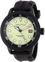 Nautica Men's Nmx601 N17618G Silicone Quartz Watch