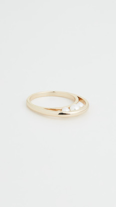 Jules Smith Pearl Looped Ring