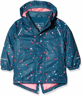 Name It Baby Girls' Nmfsnow03 AOP Jacket Fo