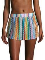 Multicolor Swirly Shorts