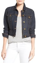 MICHAEL Michael Kors Women's Crop Denim Jacket