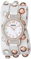 XOXO Women's XO5661 Analog Display Quartz White Watch