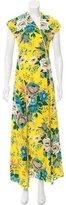Diane von Furstenberg 2017 Bournier Crepe Dress