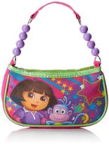 Nickelodeon Little Girls' Dora Beaded Handbag