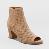 Mad Love Women's Carley Laser Cut Booties