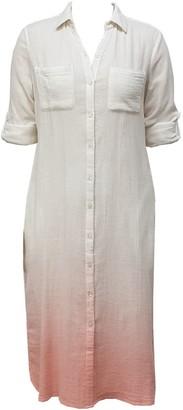 Nooki Design Brooklyn Shirt Dress - Coral Ombre