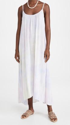 9seed Tulum Dress | Pastel Cloud Tie Dye
