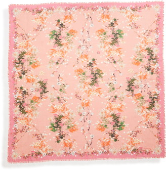 Givenchy Pink Aroma Square Scarf