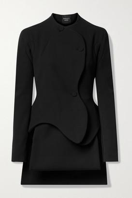A.W.A.K.E. Mode Layered Stretch-cady Jacket - Black