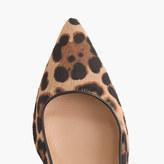 J.Crew Collection Dulci calf hair kitten heels