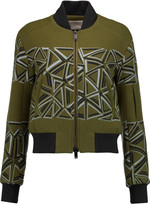 Peter Pilotto Wool-blend bomber jacket