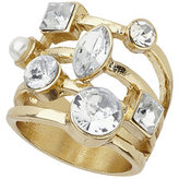Dorothy Perkins Crystal Stone Stack Ring