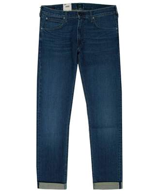 Lee Sustainable Luke Slim Tapered Fit Jeans Colour: Jackson Tinted, Si