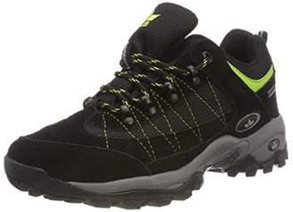 Lico Unisex Adults' Santana Low Rise Hiking Shoes, Grey (Schwarz/Lemon Schwarz/Lemon)