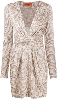 Missoni Long-Sleeved Mini Dress