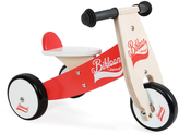 Janod Red & White Little Bikloon Ride-on