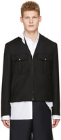 Maison Margiela Black Military Jacket