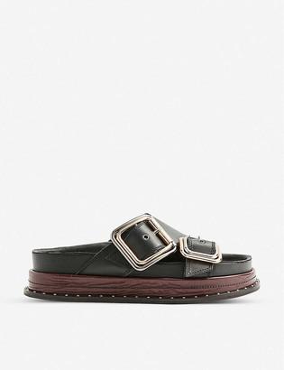 Topshop Pia buckled sandals