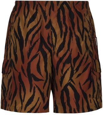 Palm Angels Tiger Print Swim Short