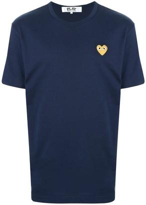 Comme des Garcons embroidered logo T-shirt
