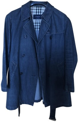 Burberry Blue Denim - Jeans Trench Coat for Women
