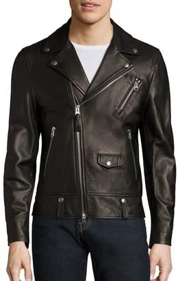 Mackage Fenton Leather Moto Jacket