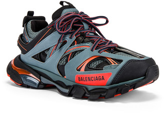 Balenciaga Track Sneaker in Dark Grey & Red & Black | FWRD