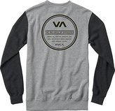 RVCA Men's Circle Type Crew Sweatshirt