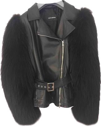 Flavio Castellani Black Leather Coats