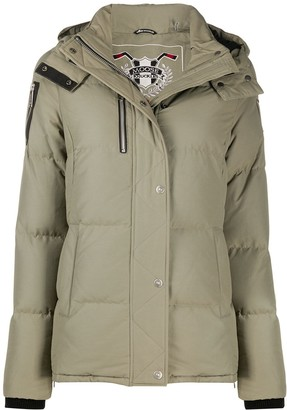 Moose Knuckles Hooded Padded Jacket