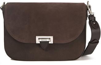 Aspinal of London Slouchy Saddle Pebbled-leather Shoulder Bag