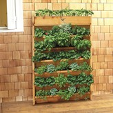 Williams-Sonoma Williams Sonoma Gronomic Cedar Vertical Planter