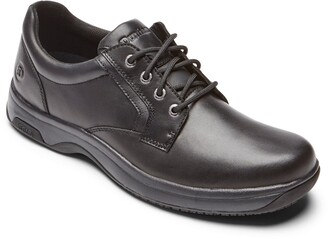 Dunham 8000 Service Waterproof Plain Toe Derby