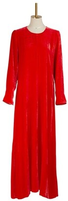 Forte Forte Long velvet dress