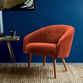 west elm Eve Buttoned Chair