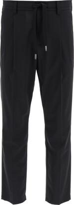 Dolce & Gabbana Stretch Wool Jogger Pants