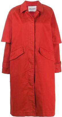 Henrik Vibskov Short Sleeve Single-Breasted Coat
