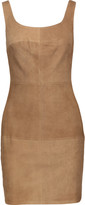 Bailey 44 Nomad suede and stretch-jersey mini dress