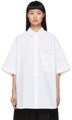 Studio Nicholson White Oversized Rocha Shirt