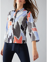 Nümph Zurie Printed Shirt, Eventide