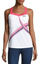 Fila MB Court Central Tank Top, White